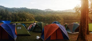 campsite rental tries biscarosse