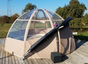 eco lodge tent rental picardie