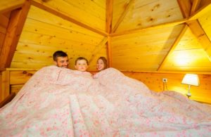 eco lodge tent picardie