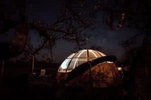 campsite near crotoy