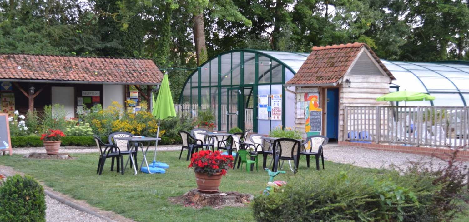 camping with heated pool saint valery sur somme