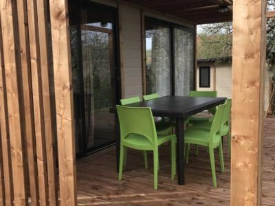 camping with heated swimming pool in ceou valley