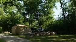 camping dans les landes.
