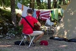 camping proche de capbreton.