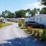 camping proche de biscarrosse - mobil home