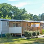 camping ombrage proche de lit et mixe - mobil home