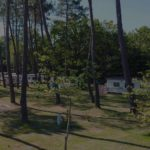reservation camping proche lac de biscarrosse - mobil home