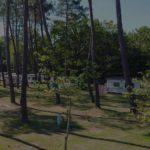 camping pour caravane proche lac de biscarrosse - mobil home