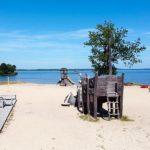 reservation camping proche lac de biscarrosse - piscine