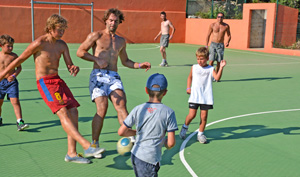 campsite games and activities corse corse beach