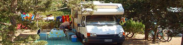 in camper corsica sardegna