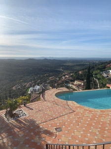 location villa domaine prive proche le lavandou - location vacances